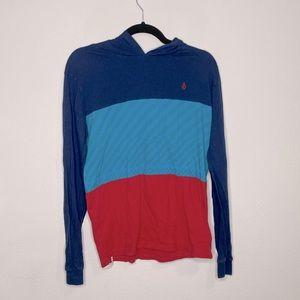 Men's Volcom Hooded T-Shirt Size XL